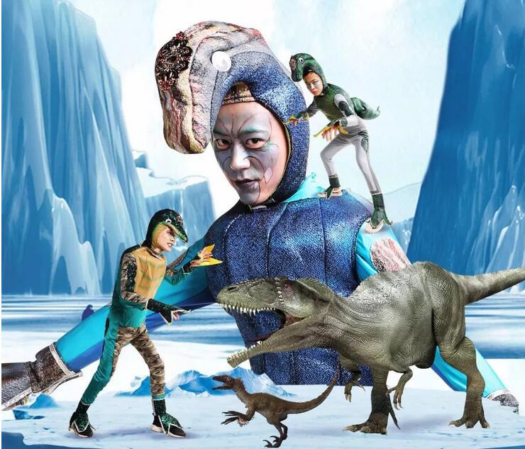 儿童剧《恐龙王国之南极之旅》东营演出门票