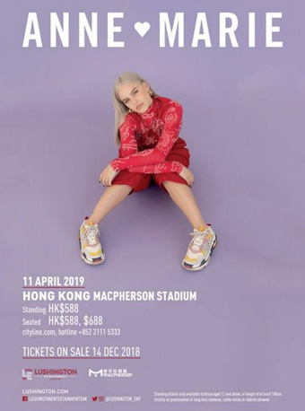 Anne-Marie Live in Hong Kong