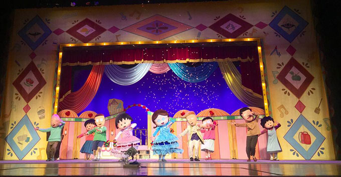 动漫人偶音乐剧《樱桃小丸子――灰姑娘的音乐剧》上海站