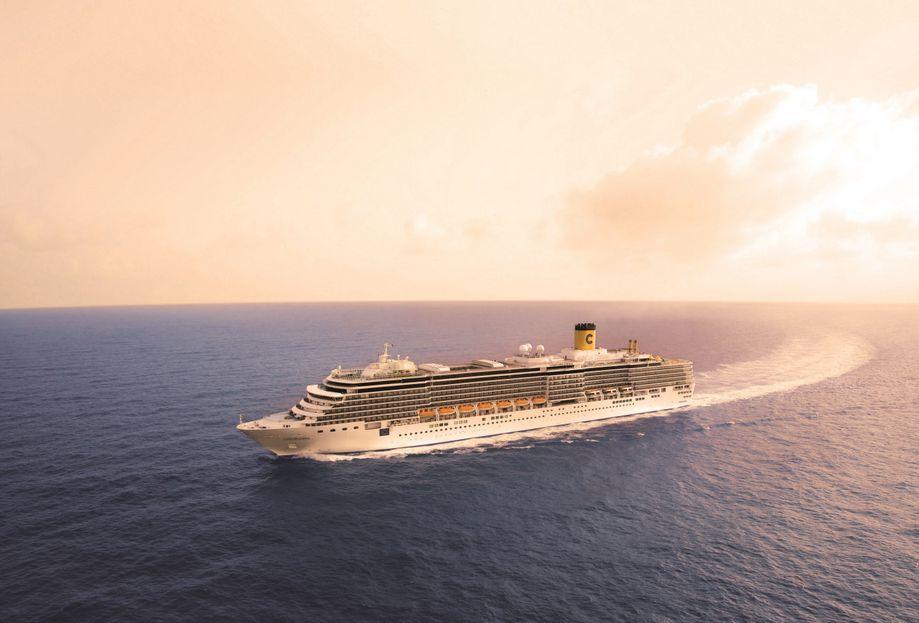 """歌诗达最新最大""""威尼斯号""""邮轮,海上意大利"""