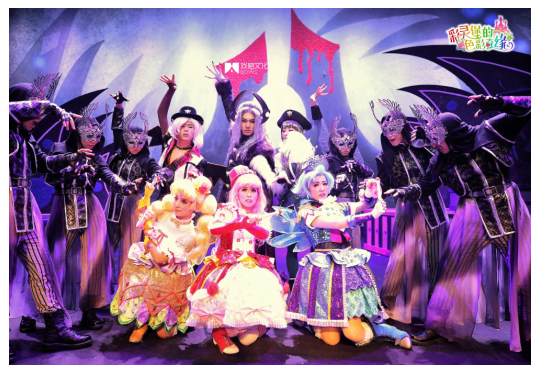 《彩灵堡的色彩奇缘》杭州演出门票