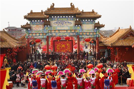 2019开封翰园春节祭祖大庙会即将开启 精彩盛会不容错过