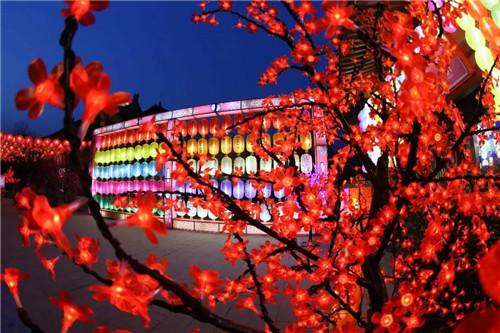 清明上河园国际灯笼节1月28日绚丽来袭