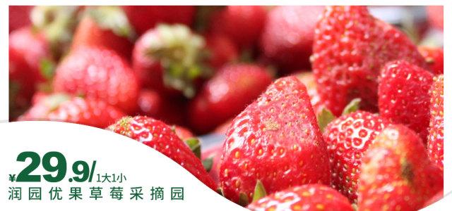 润园优果草莓园门票