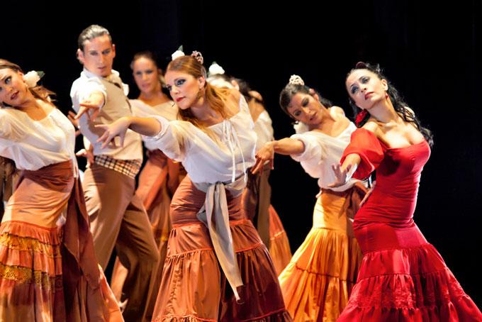 西班牙塞维利亚弗拉门戈舞剧《卡门》杭州站