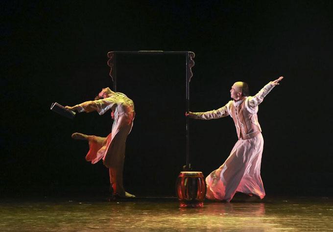 舞剧《人生若只如初见》中山站