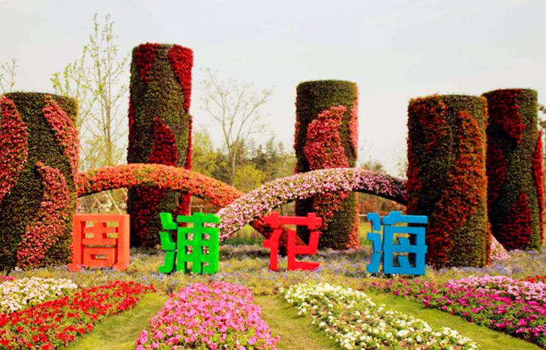 上海周浦花海生态园