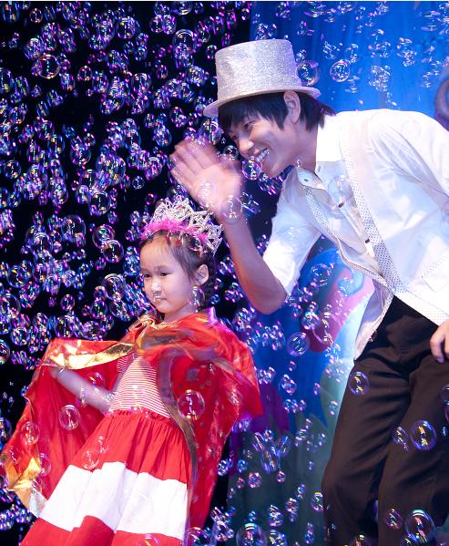 儿童剧《魔幻人泡泡王子的舞会》呼和浩特站