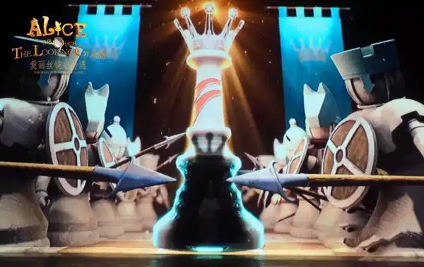 中美联创百老汇多媒体亲子剧《爱丽丝II--镜中奇遇》西安
