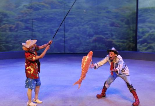 上海《欢乐马戏》演出