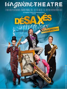 法国巴黎四怪客喜剧互动儿童音乐会《疯狂萨克斯》-上海站
