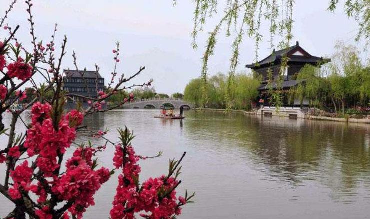 上海南汇桃花村