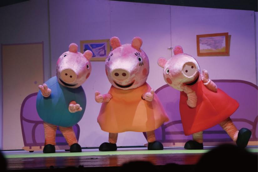 《小猪佩奇舞台剧完美的下雨天》西安演出门票