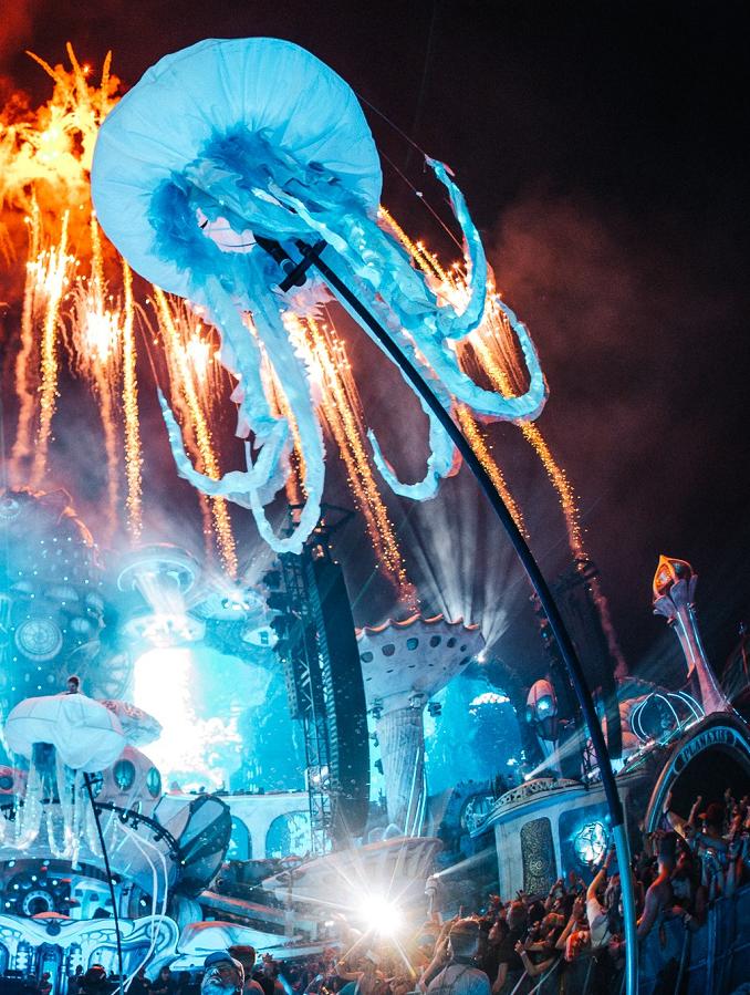 比利时 Tomorrowland 音乐节