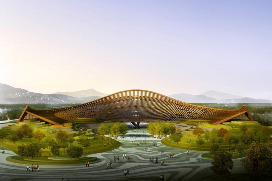2019北京世界园艺博览会中国馆有哪些园区?