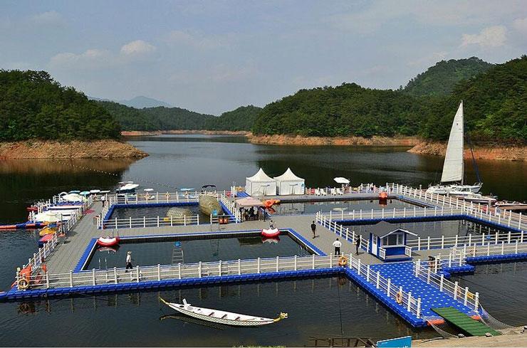千岛湖进贤湾水上公园