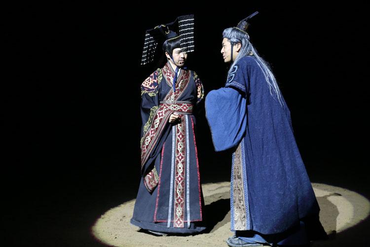 《秦汉风云》演艺