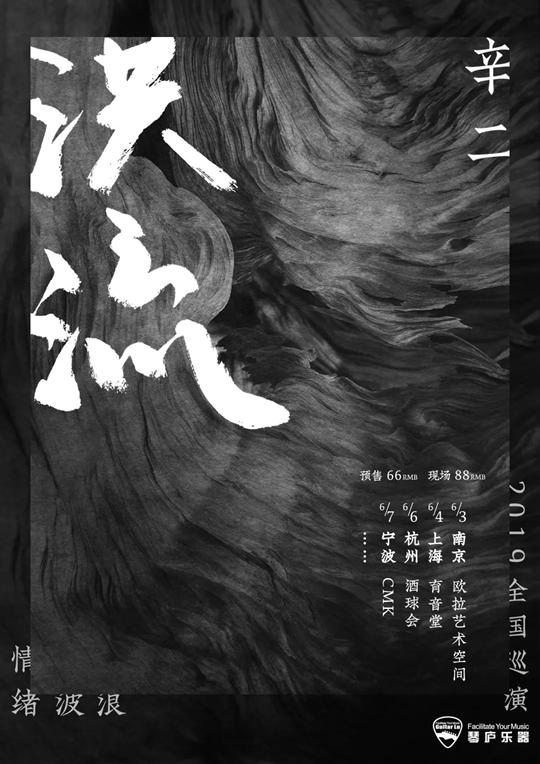 辛二x情绪波浪乐队宁波演唱会