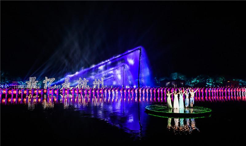 印象西湖《最��是杭州》演出