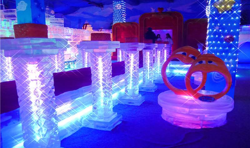 蓬莱阁冰雪艺术世界