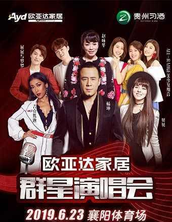 2019襄阳欧亚达家居群星演唱会