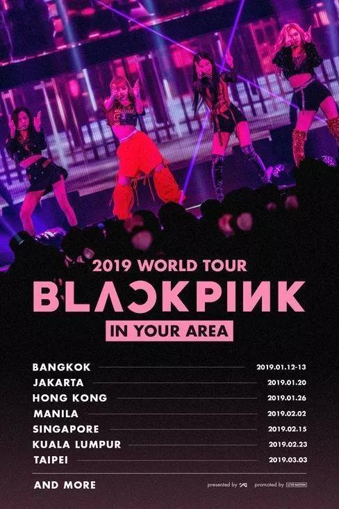 2019Black pink曼谷演唱会