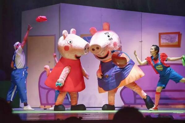 《小猪佩奇舞台剧佩奇欢乐派对》绍兴演出门票