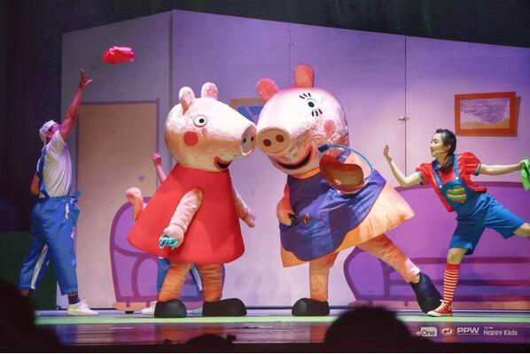 《小猪佩奇舞台剧佩奇欢乐派对》无锡演出门票