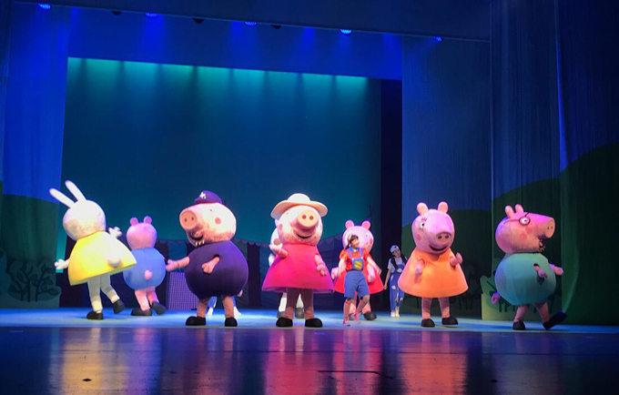 《小猪佩奇舞台剧-佩奇欢乐派对》中文版盐城站