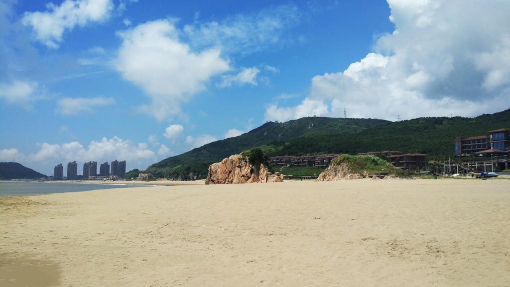 嵊泗列岛南长涂沙滩