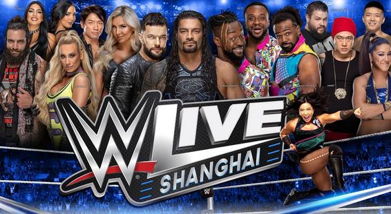 上海wwe摔跤秀