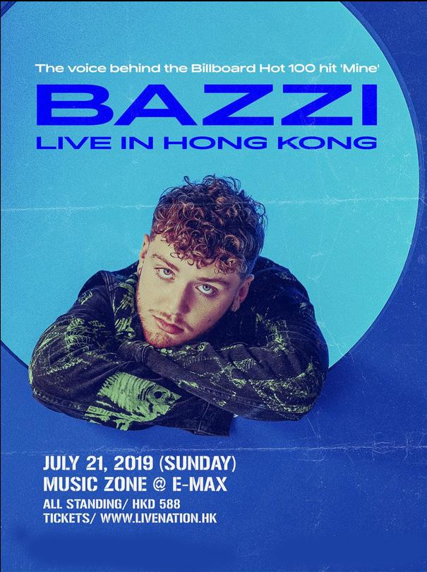 Bazzi香港演唱会