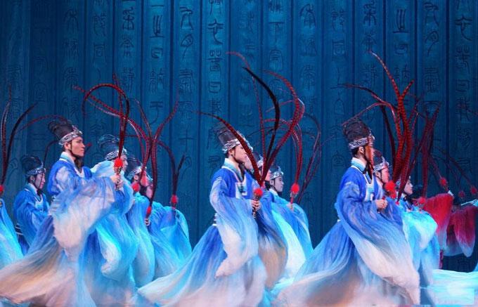 长春中国歌剧舞剧院大型民族舞剧《孔子》