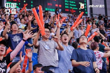 2019中塞女篮对抗赛西安站