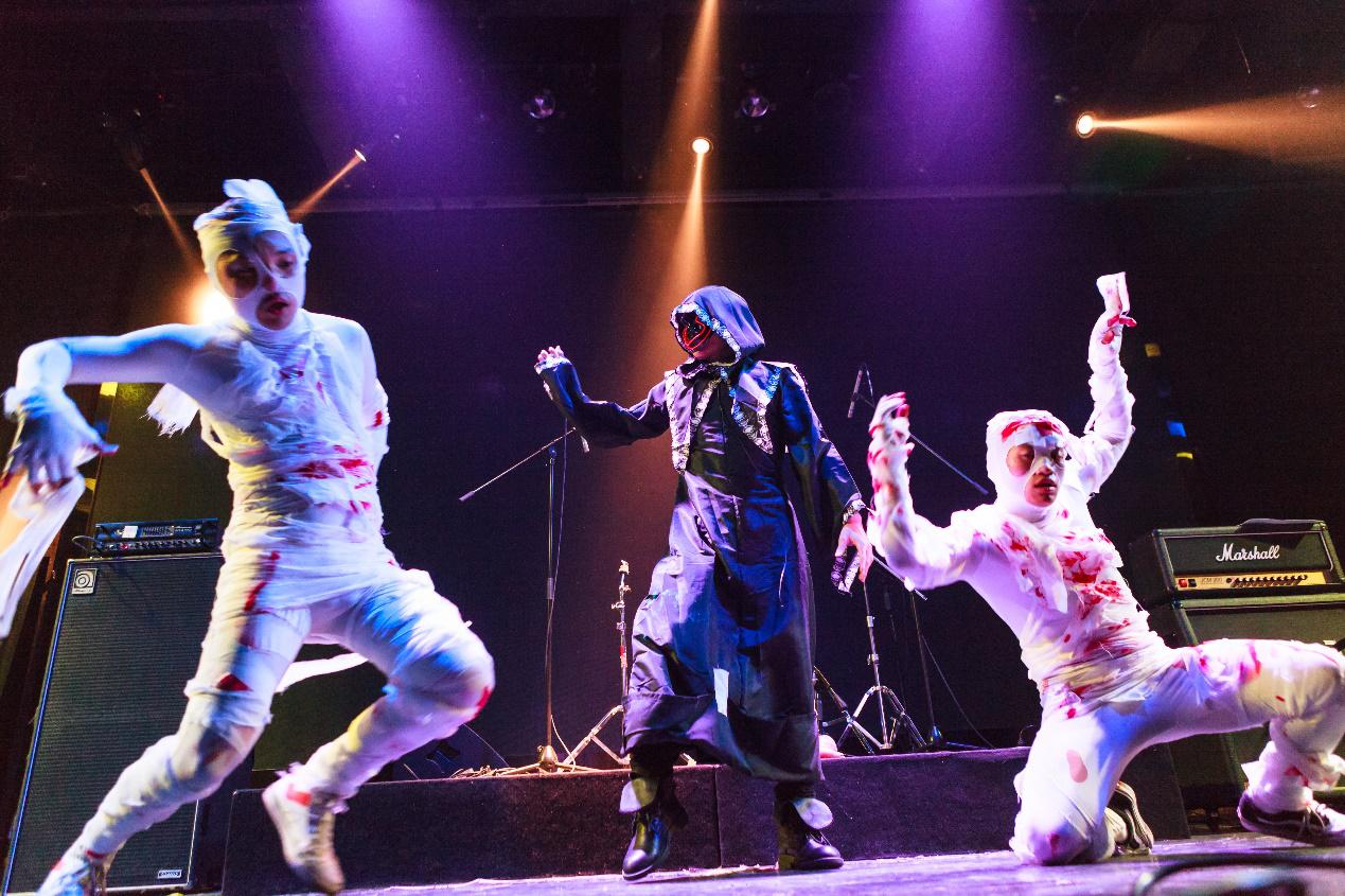 万圣节魔女惊魂主题惊悚派对