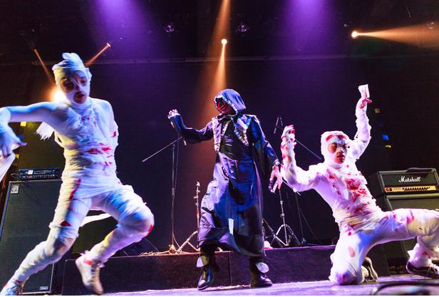 万圣节魔女惊魂主题惊悚派对武汉站