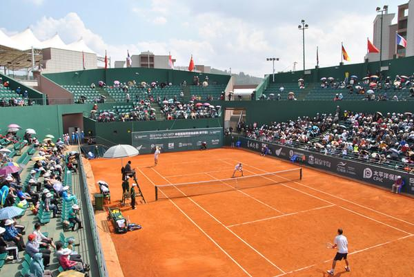 中国云南安宁温泉半岛国际网球中心
