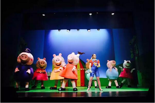 《小猪佩奇舞台剧佩奇欢乐派对》芜湖演出门票