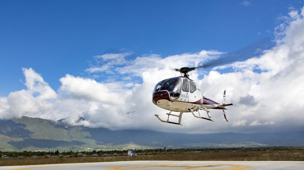 平遥古城直升机空中游览