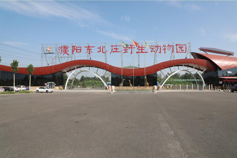 周末自驾走进濮阳东北庄野生动物园,品尝地道的河南美食。