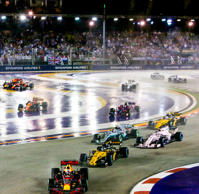[赛车]2019年新加坡F1