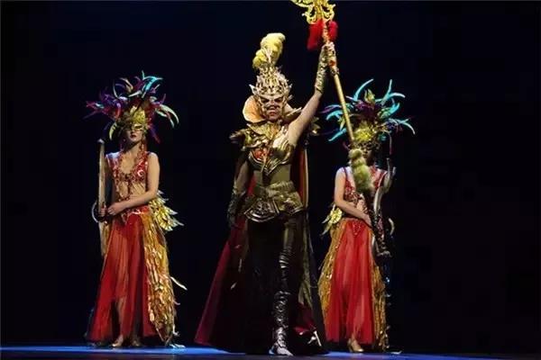 史诗级大型演出《金面王朝》