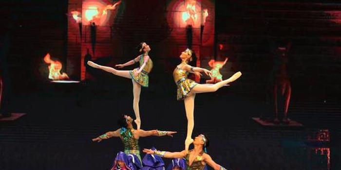 杂技表演《天地宝藏》北京站
