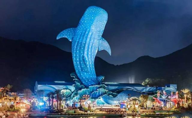 珠海长隆海洋音乐广场