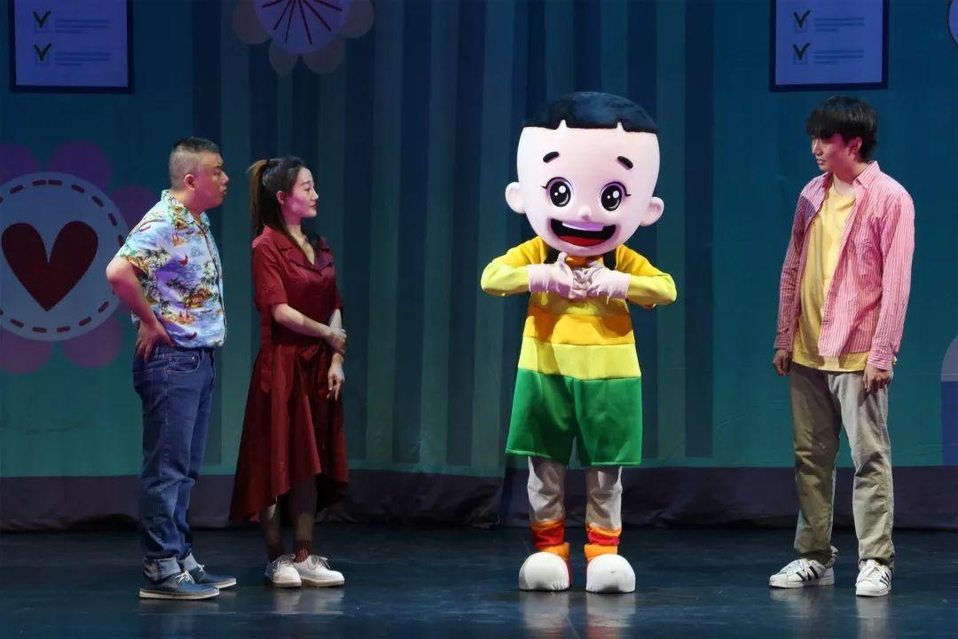 大型卡通舞台剧《新大头儿子和小头爸爸之妈妈的礼物》北京站