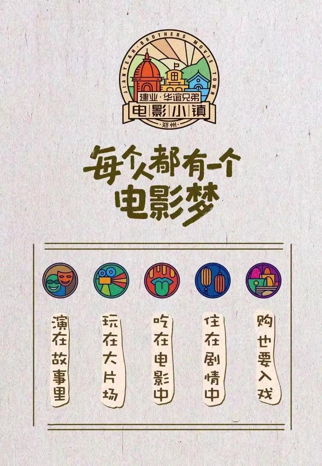 郑州建业电影小镇门票、地址、开业时间