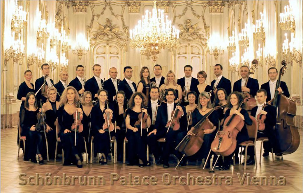 维也纳美泉宫交响乐团贵阳音乐会门票
