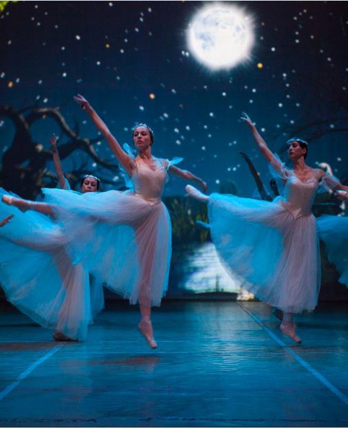 俄罗斯多媒体芭蕾舞剧《吉赛尔》唐山站