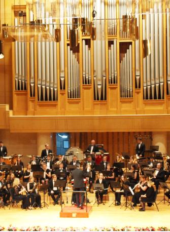 德国巴伐利亚交响管乐团新年音乐会长沙站