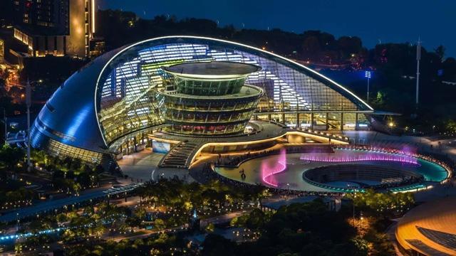 杭州大剧院露天剧场
